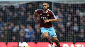 West Ham defender Winston Reid is out of contract in the summer