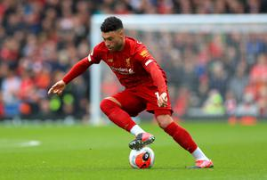 Midfielder Alex Oxlade-Chamberlain admits the players have to push themselves to the next level (Mike Egerton/PA)