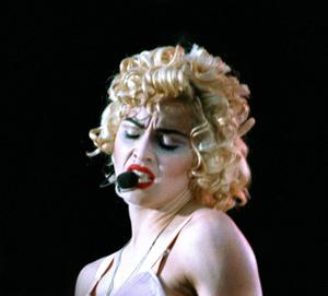 Madonna was at number one in the UK with Vogue