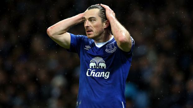 Leighton Baines has questioned the chemistry in Everton's team