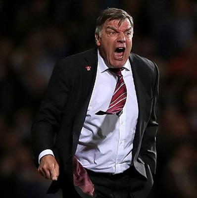 Sam Allardyce was furious with the officiating for Manchester United's crucial second goal