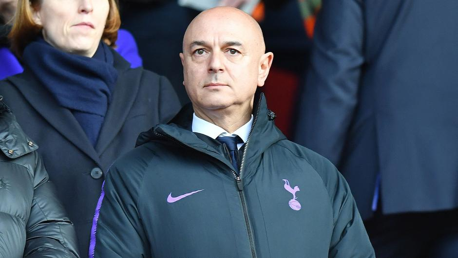 Tottenham chairman Daniel Levy has been elected to the ECA board despite being part of breakaway Super League plans. Picture: OLLY GREENWOOD