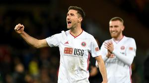 Chris Basham has signed a deal to stay at Sheffield United until the summer of 2022 (Joe Giddens/PA)