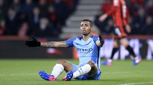 Injured Manchester City striker Gabriel Jesus could return before the end of the season