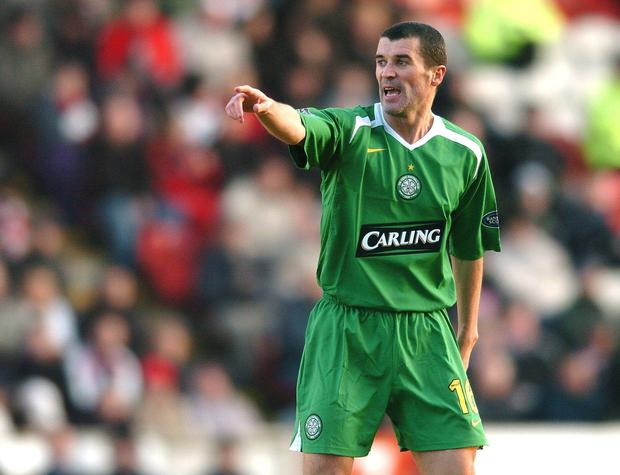 Roy Keane playing for Celtic in 2006. Picture: David Maher/SPORTSFILE