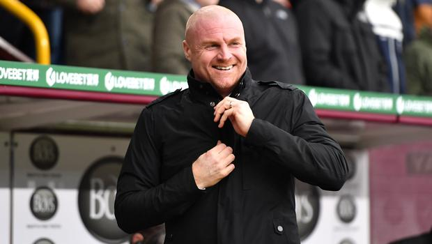 Sean Dyche has guided Burnley to consecutive wins (Anthony Devlin/PA)