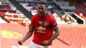 Anthony Martial's hat-trick saw Manchester United thrash Sheffield United (Michael Steele/NMC Pool/PA)