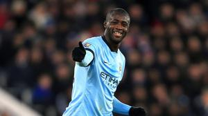 Roberto Mancini remains a big fan of Manchester City midfielder Yaya Toure, pictured