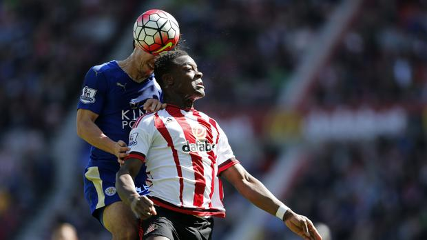 Defender Lamine Kone, right, has asked to leave Sunderland
