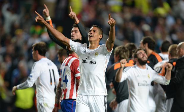Real Madrid's Raphael Varane is wanted by Manchester United (Andrew Matthews/Empics)