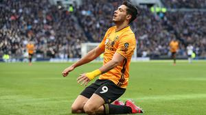 Raul Jimenez was Wolves' match-winner at Tottenham (Bradley Collyer/PA)