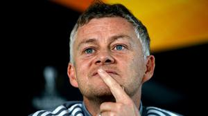Ole Gunnar Solskjaer.says there is no room for complacency at Old Trafford (PA)