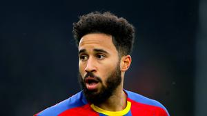 Crystal Palace's Andros Townsend has no fears of returning to playing. (John Walton/PA)