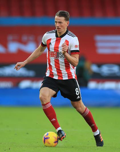 Sheffield United's Sander Berge could be off to Aston Villa (Mike Egerton/PA)