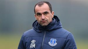 Roberto Martinez is taking each game at a time as he bids to steer Everton clear of trouble and move on in the Europa League