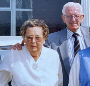 Nan and Kevin Gaynor were among those leading the way