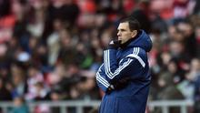 Gus Poyet accepted full responsibility for a damaging 4-0 home defeat by Aston Villa