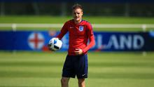 Jamie Vardy is away on England duty as speculation continues over his club future