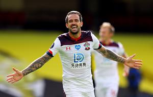 Danny Ings has found the back of the net three times since football resumed (Richard Heathcote/NMC Pool/PA)