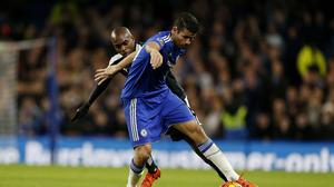 Diego Costa, right, turned jeers to cheers with his display against Watford