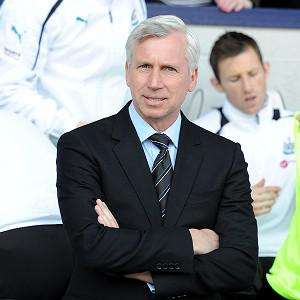 Alan Pardew was happy to claim a share of the spoils against West Brom