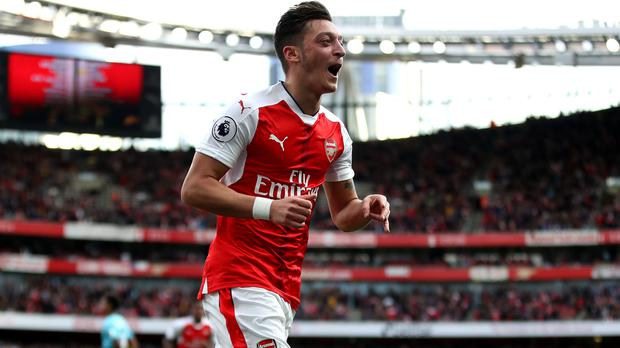 Arsenal's Mesut Ozil could be set for a lucrative new deal