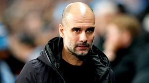 """Pep Guardiola says he """"would love"""" to stay on at Manchester City (Martin Rickett/PA)"""