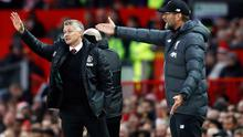 Manchester United manager Ole Gunnar Solskjaer and his Liverpool counterpart Jurgen Klopp have both complained about Premier League kick-off times lately (Martin Rickett/PA)