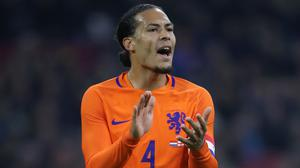 Holland manager Frank De Boer will not put any pressure on Virgil Van Dijk to declare himself fit for Euro 2020 (Nick Potts/PA)