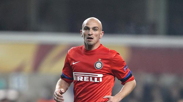 Esteban Cambiasso had been released by Inter Milan over the summer