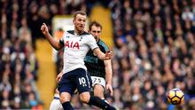 New father Harry Kane netted three goals for Spurs against West Brom