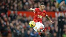 Angel di Maria was substituted at half-time during United's 2-0 win over Sunderland on Saturday