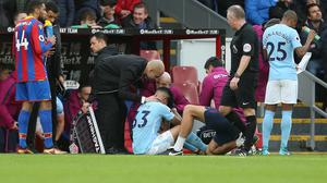 Manchester City striker Gabriel Jesus has sustained a medial collateral ligament injury