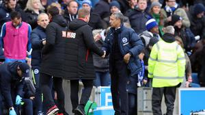 Eddie Howe's Bournemouth came from behind twice to deny Chris Hughton's men victory