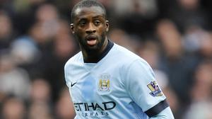 Yaya Toure has two years remaining on his Manchester City contract