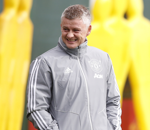 Manchester United manager Ole Gunnar Solskjaer is hoping to arrange another practice game this week against Championship promotion contenders West Bromwich Albion. Photo: Martin Rickett/PA
