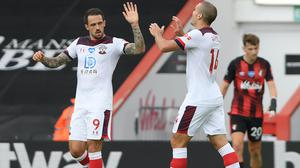 Danny Ings, left, was on the scoresheet again as Southampton beat Bournemouth (Mike Hewitt/NMC Pool/PA)
