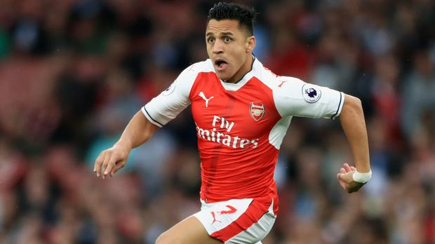 Alexis Sanchez has missed the start of Arsenal's Premier League season through injury