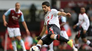Sam Allardyce is glad his West Ham side will not have to deal with Luis Suarez this weekend