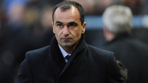 Roberto Martinez denies dressing room intervention played a part in a change of tactics