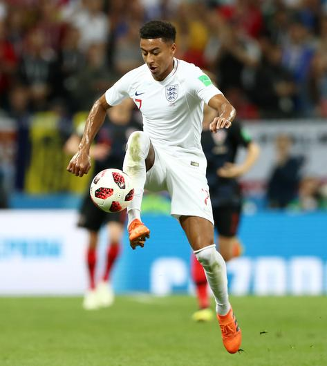 Lingard played in the World Cup semi-final against Croatia (Tim Goode/PA)