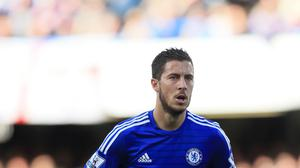 Jose Mourinho believes Eden Hazard, pictured, is worth £200 million