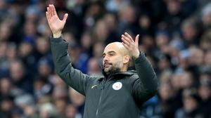 Pep Guardiola hopes to enjoy a long spell in charge at Manchester City
