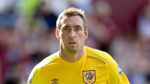 Goalkeeper Allan McGregor is one of three Hull players eyeing a comeback from injury