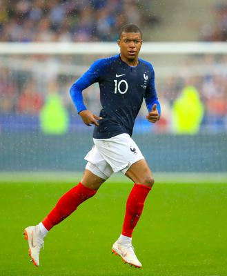Kylian Mbappe is wanted by Real Madrid (Adam Davy/PA)