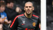 Victor Valdes has made two appearances since joining Manchester United in January