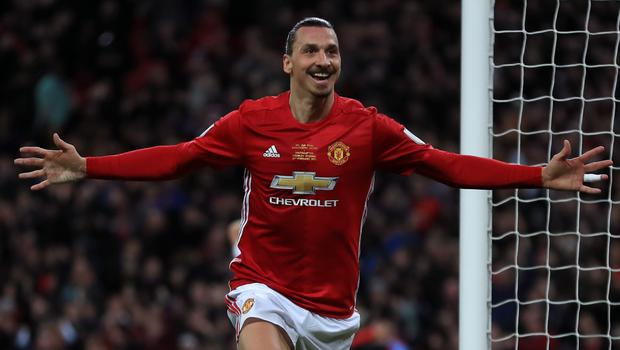 Zlatan Ibrahimovic is sidelined for the rest of 2017 after damaging knee ligaments