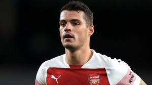 """Granit Xhaka has revealed what led him to """"boiling point"""" (Mike Egerton /PA)"""