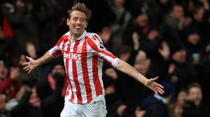 Peter Crouch has agreed a contract extension at Stoke