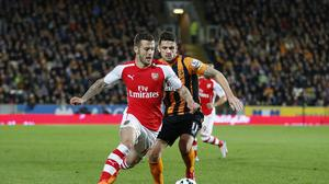 Jack Wilshere, pictured left, feels Arsenal can mount a title challenge next season